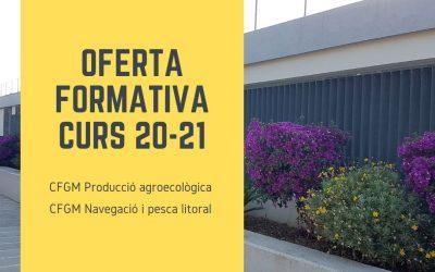 OFERTA FORMATIVA CIFP CAN MARINES CURS 2020-2021