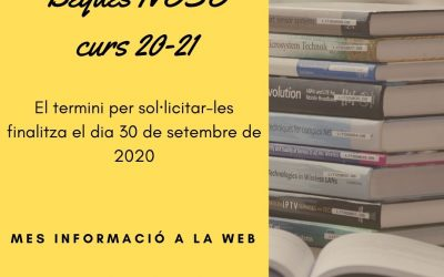 Beques NESE curs 2020-2021