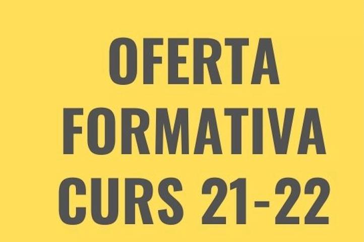 Oferta formativa FP  pel curs 2021-2022